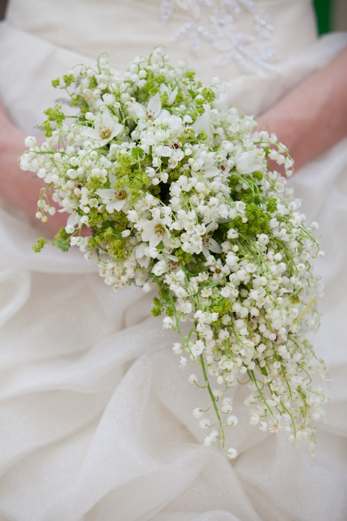 Lilly of the Valley Wedding Bouquet