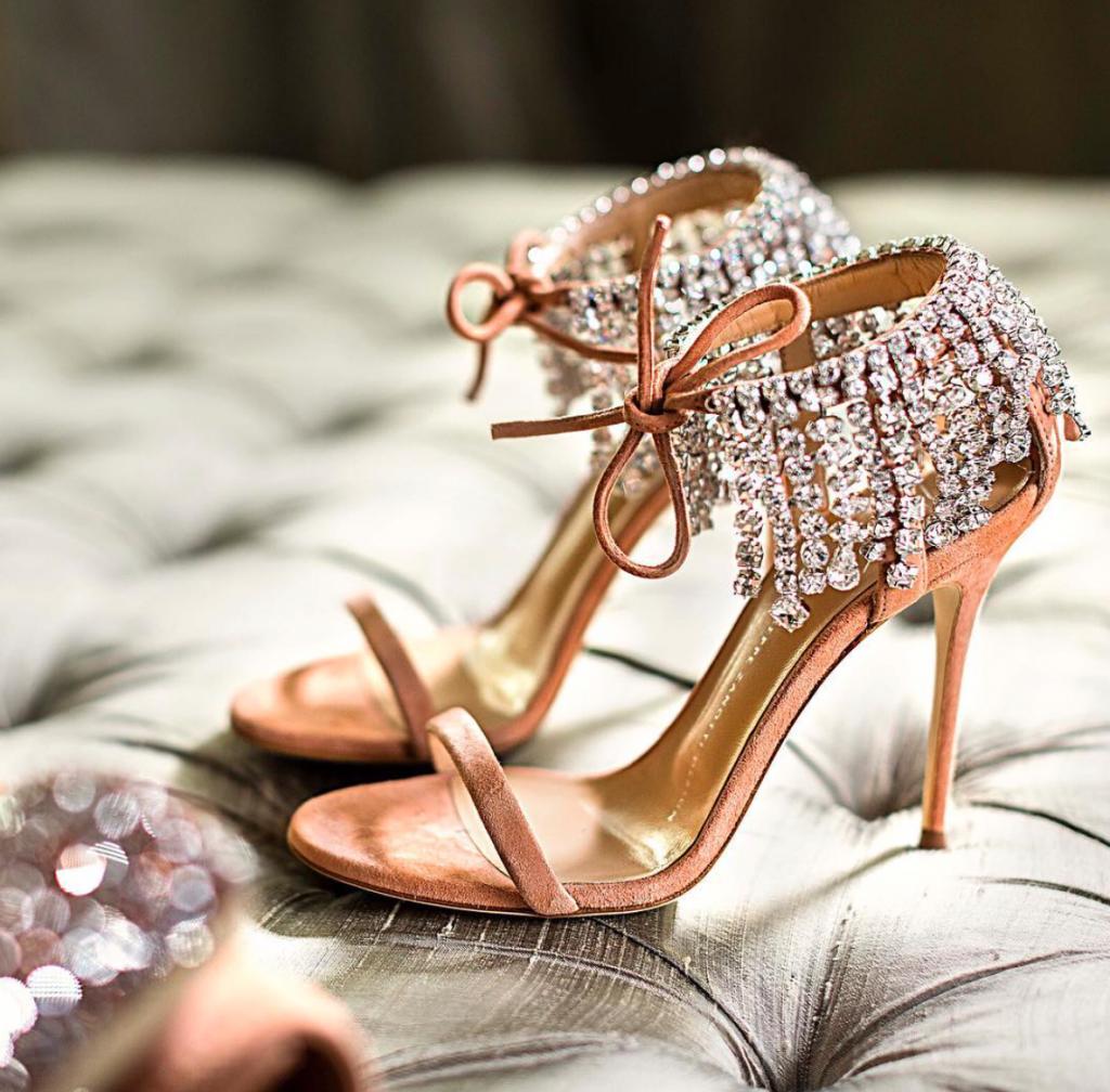 Giuseppe Zanotti Design Shoes for Non-Traditional Wedding