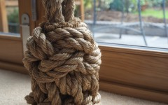 Rope Decor Patio Door Stop