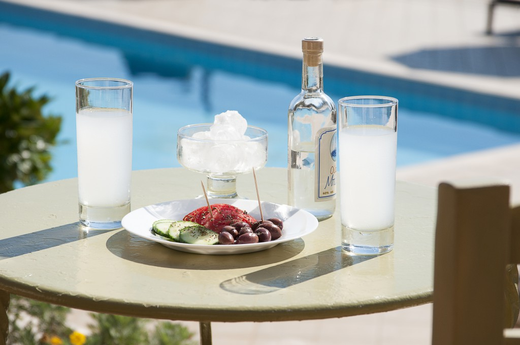 Ouzo and Greek Olives