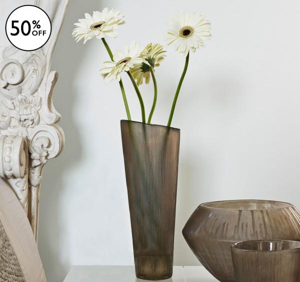Trophy Cut Glass Vase
