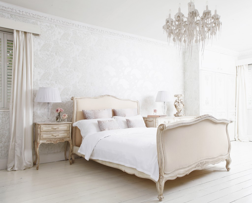The French Bedroom Company Delphine French Upholstered Bed
