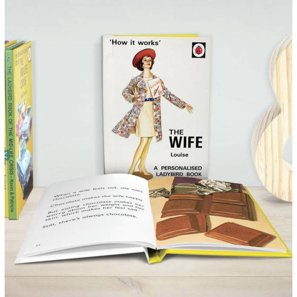 Personalised Ladybird Book The Wife by The Letteroom