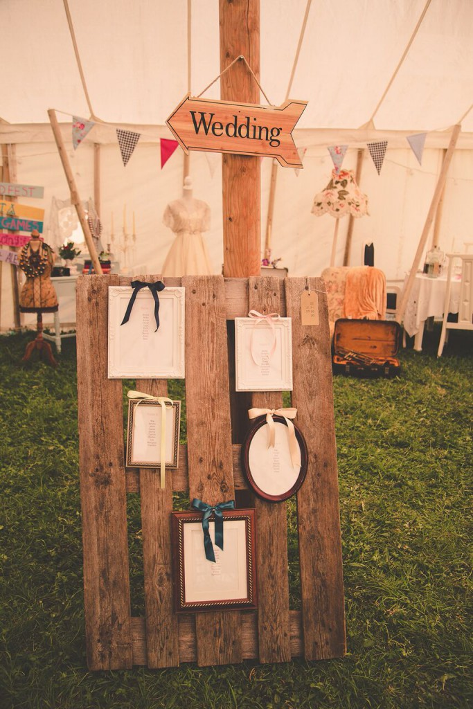 Festival Themed Wedding Table Plan