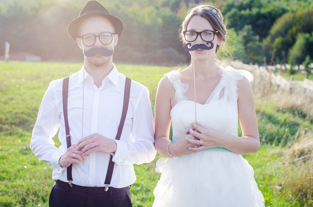 Wedding Fun Accessories Moustache