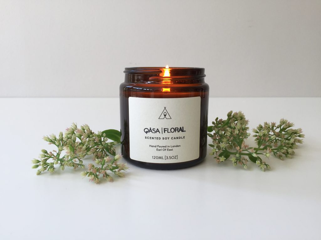 QÄSA | Floral Candle