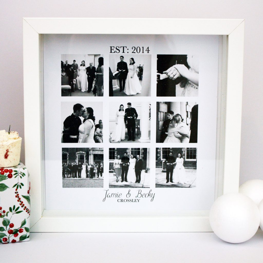Personalised Wedding Collage Print