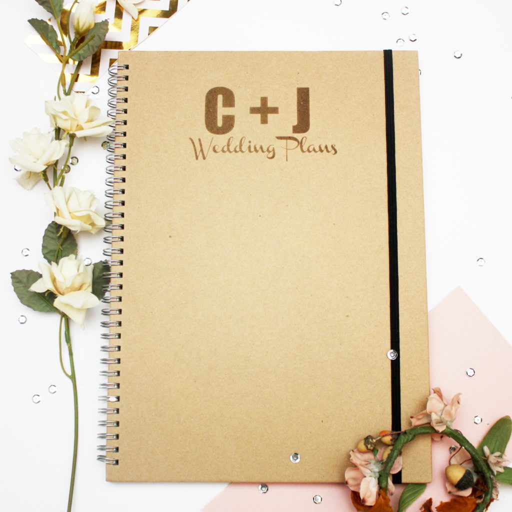 Wedding Plans Notebook