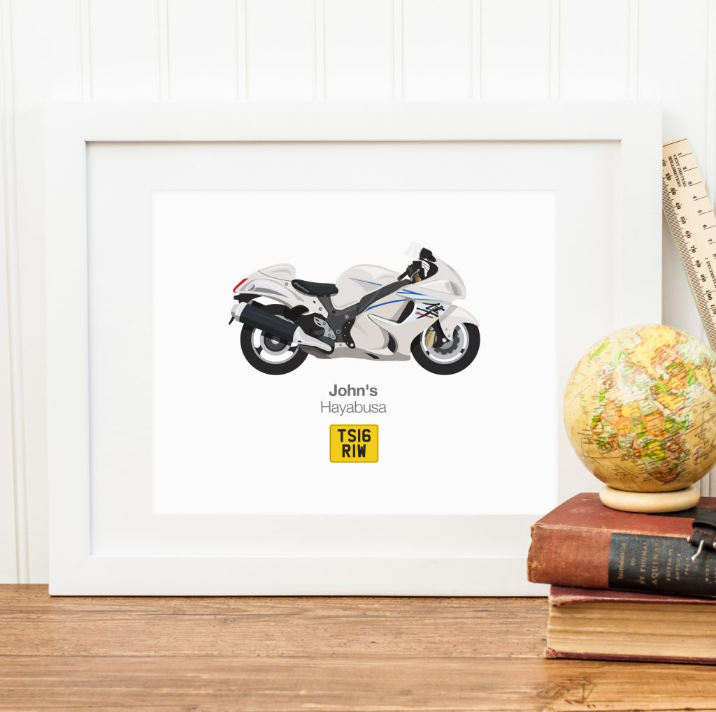 Custom Bike Illustration