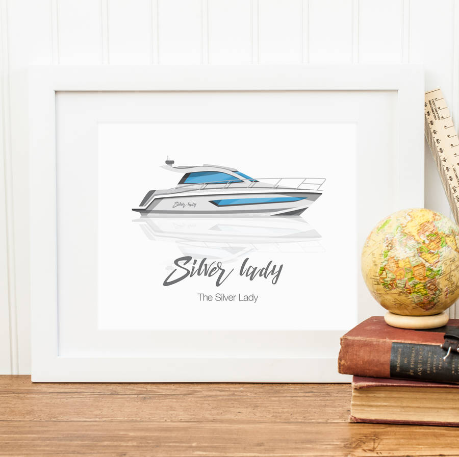 RyRy Custom Boat Illustration