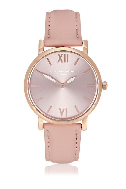 Elie Beaumont Kew Pink Nappa Leather