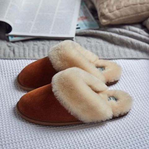 Morlands Sheepskin Slippers Lea