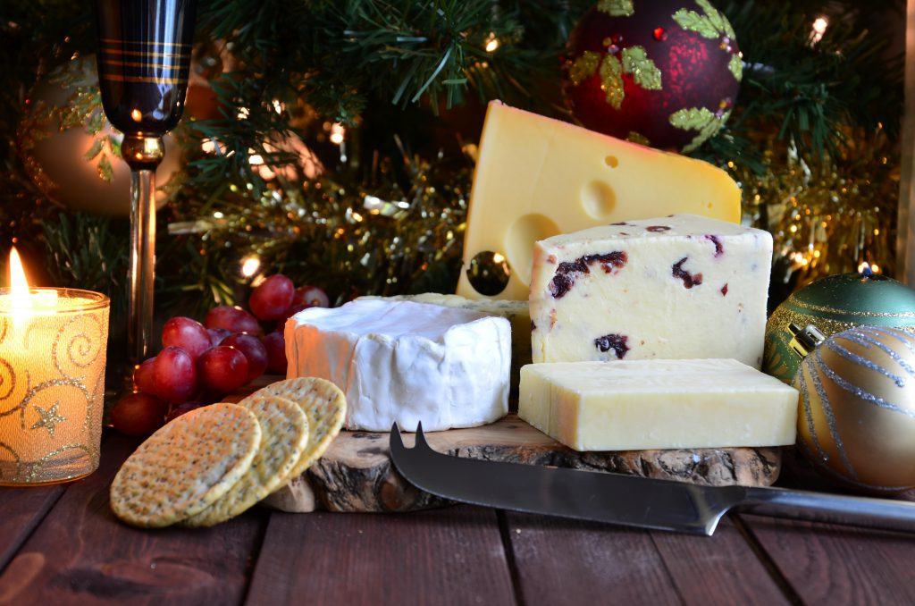 Christmas Cheese and Crackers