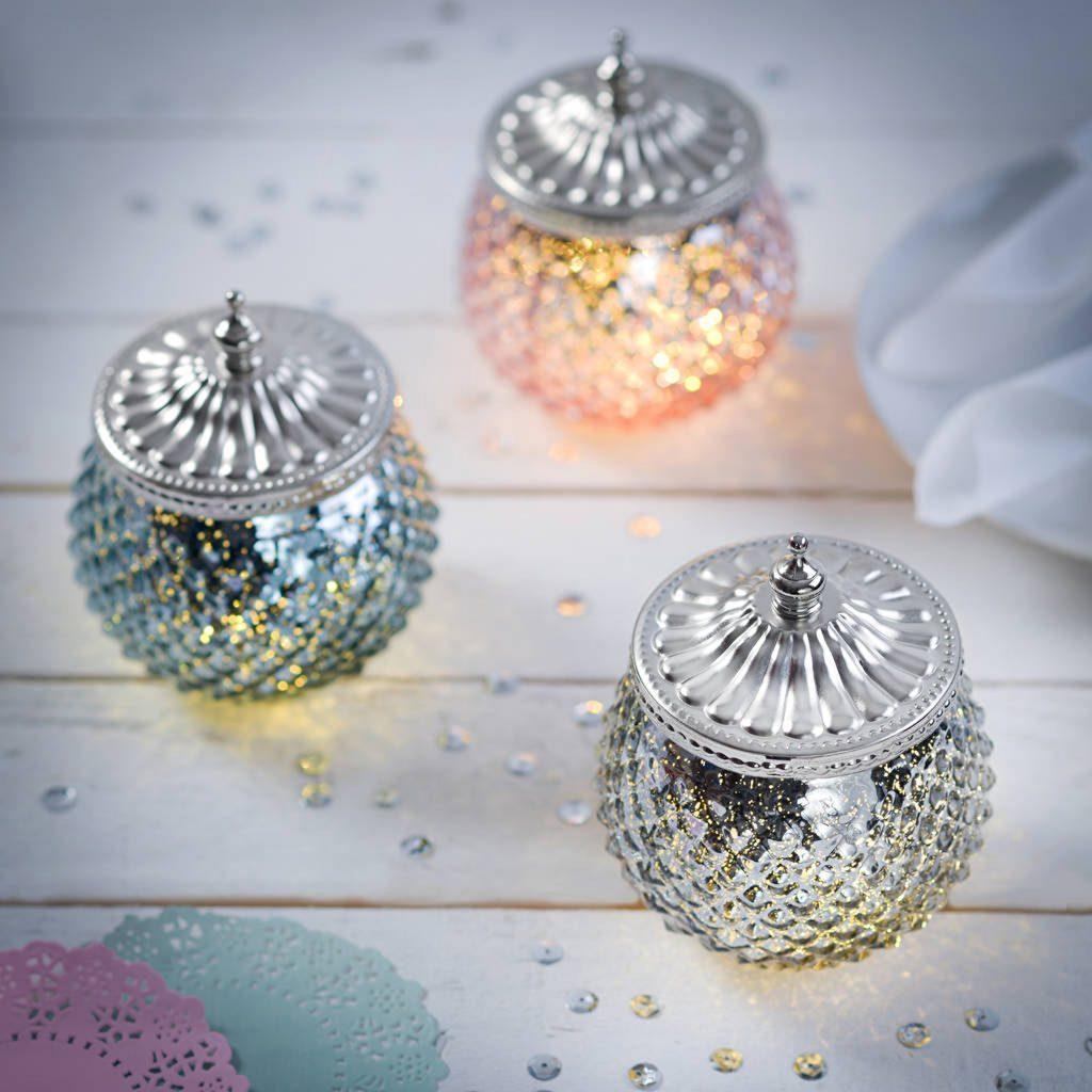 Diamond LED Sparkle Jar The Letteroom