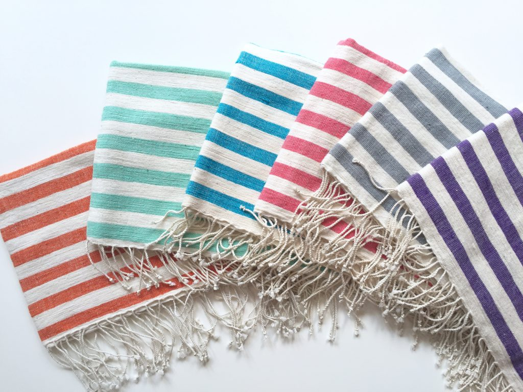 OMO Ethiopian Cotton Hand Towels