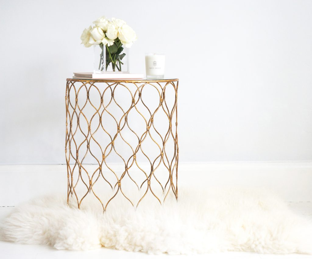 The French Bedroom Company Dewdrops Side Table