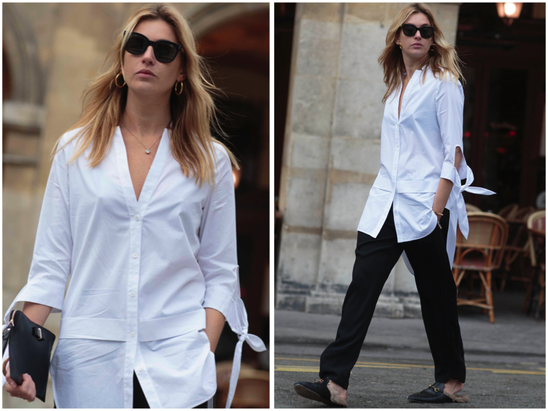 Karen Millen Oversized White Shirt