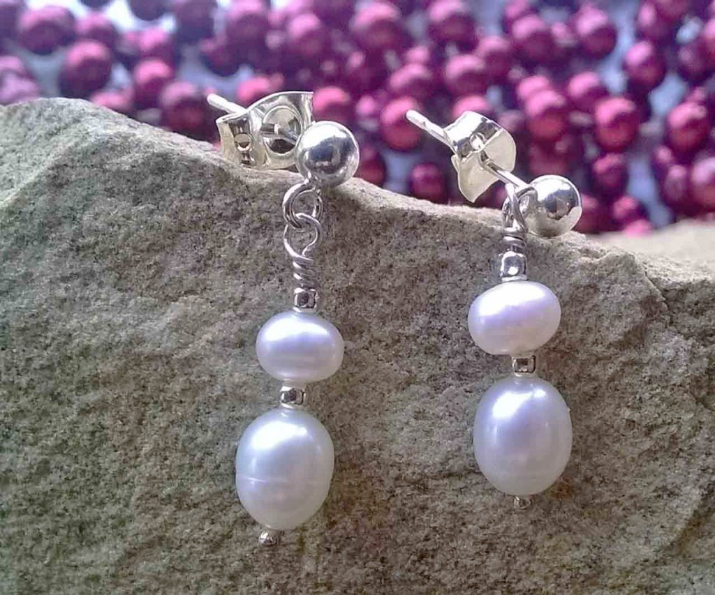 Camber and Kernz Pearl Drop Earrings