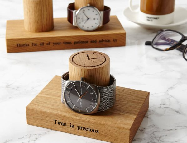 Gents Personalised Single Watch Stand