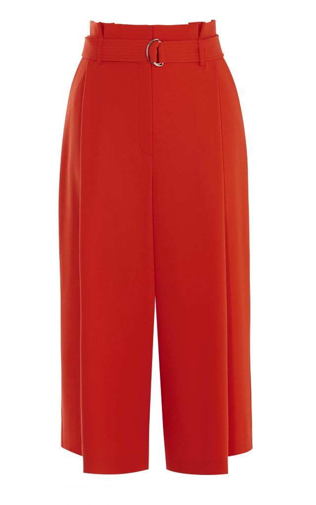 Karen Millen D-Ring Culottes Orange