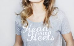 Head Over Heels Slogan T-Shirt from notonthehighstreet