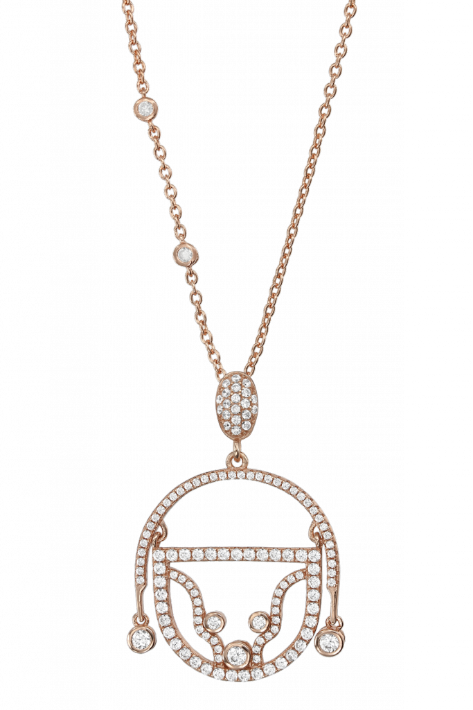 Claudia Florentina Adam Necklace Gold