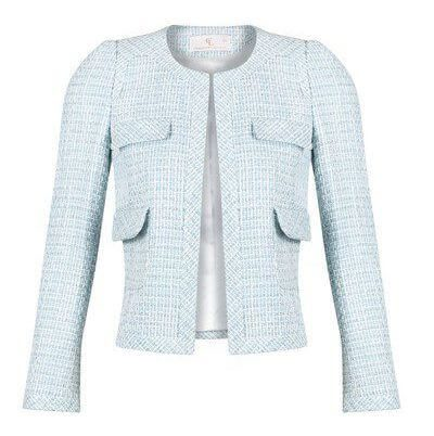 Chelsea Box Jacket Baby Blue London Collection Charlotte London
