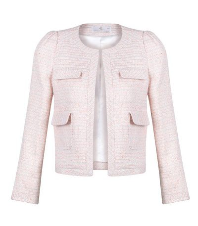 Chelsea Box Jacket Soft Pink Charlotte London