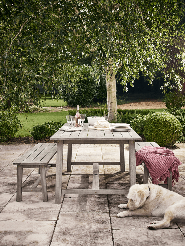 Cox and Cox Ravello Dining Set Outdoor Furniture