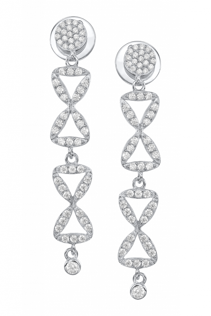 Claudia Florentina The Column of Infinity Earrings