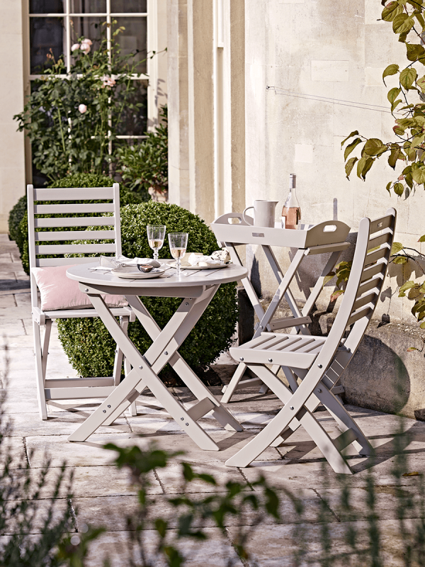 Somerton Bistro Set Cox and Cox Outdoor Furniture