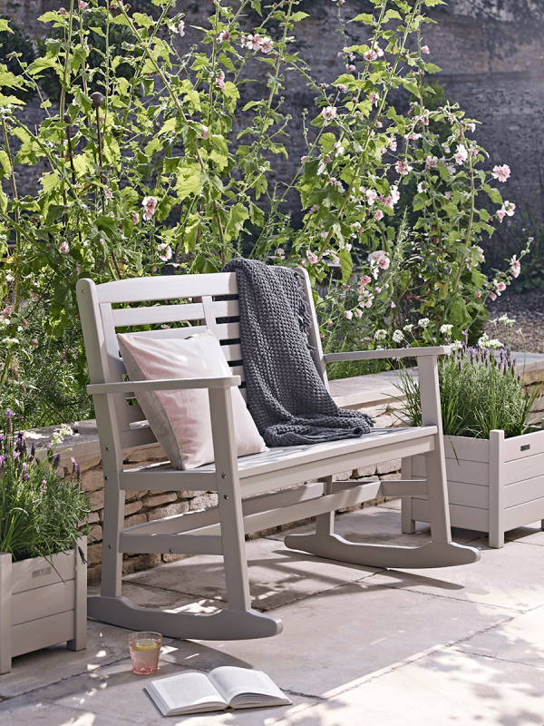 Somerton Double Rocker Cox and Cox Outdoor Furniture