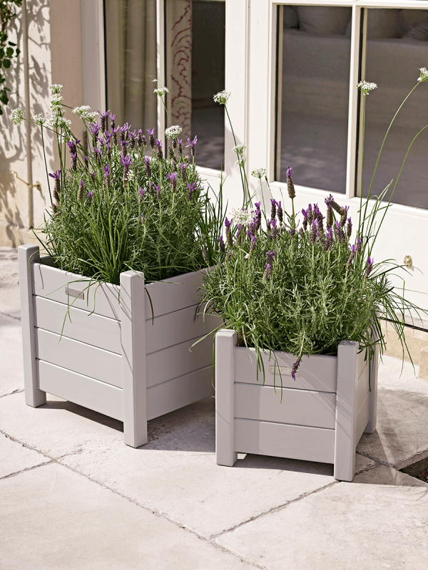 Somerton Planters Cox and Cox Painted Outdoor Furniture