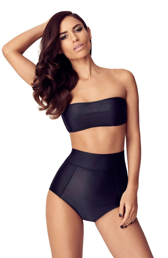 TRIPP Swim Galizi High-Waisted Bottoms Black Bikini