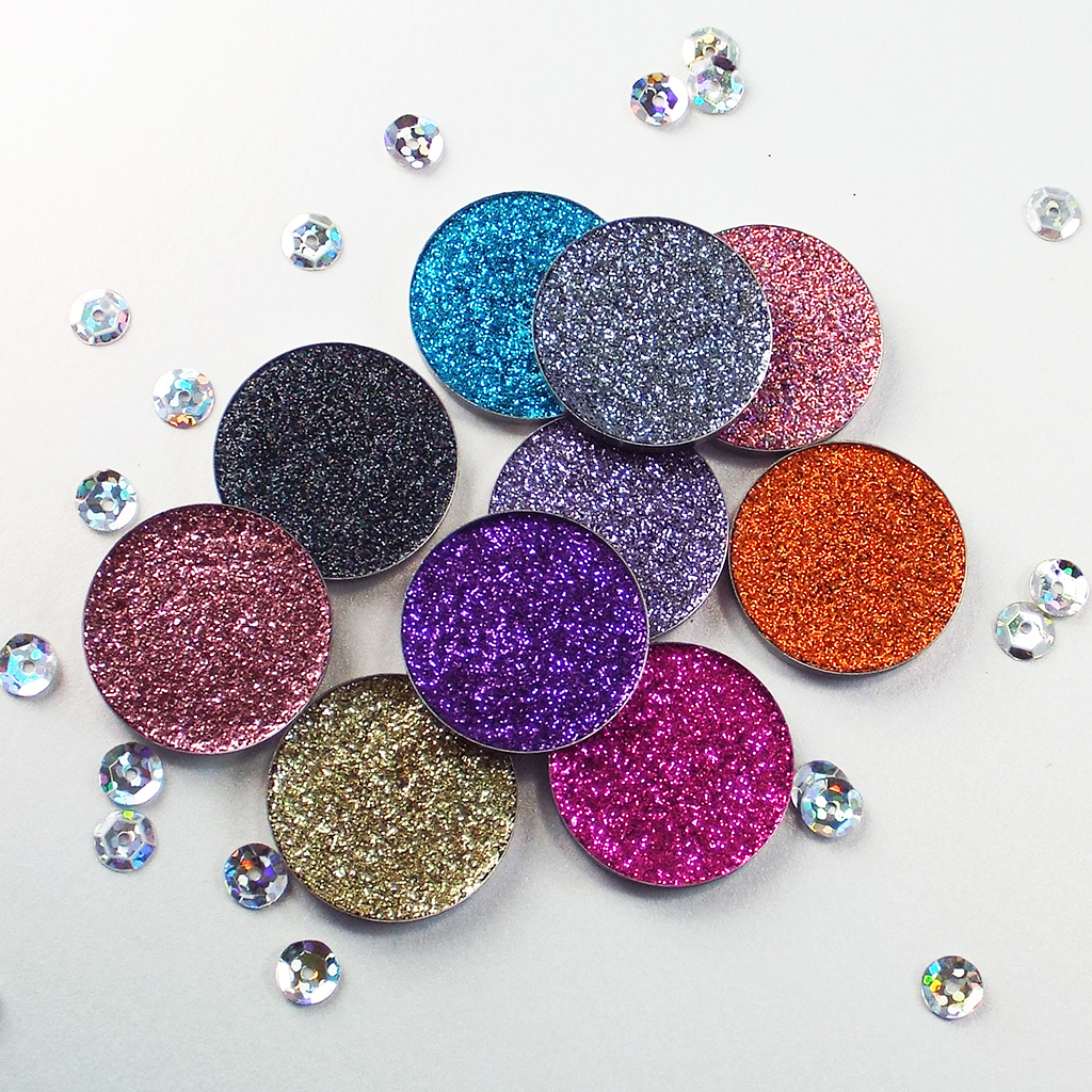 Single Pressed Glitter Eyeshadows PRIMA Make Up