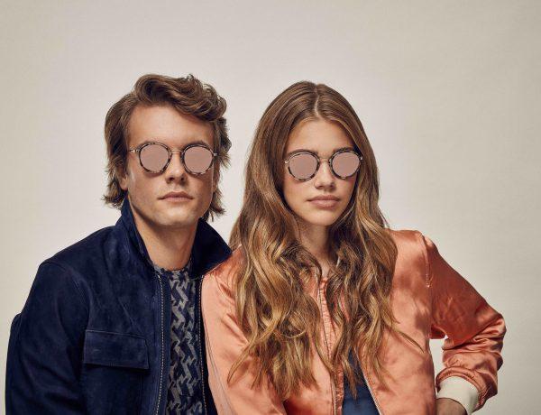 Taylor Morris Eyewear Matte Pale Rose Zero