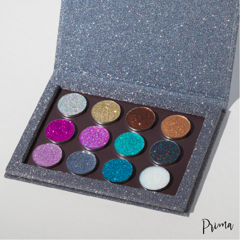 The Twinkling Twelve Collection Palette PRIMA Makeup