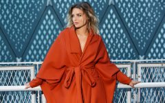 Charlie Buckle Designer Outerwear The Tulip Coat