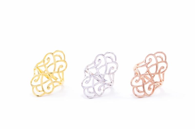 Infinite Love Adjustable Ring Seven Saints