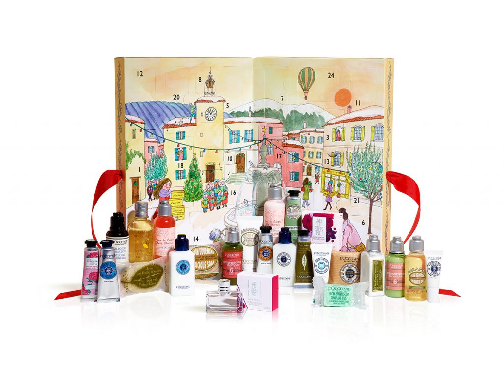 L'Occitane Classic Beauty Advent Calendar Christmas 2017