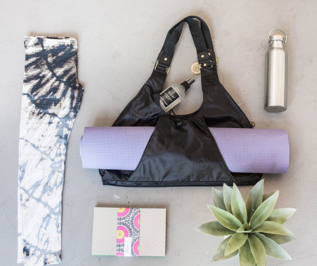 Live Great Yoga Bag by Maha Loka