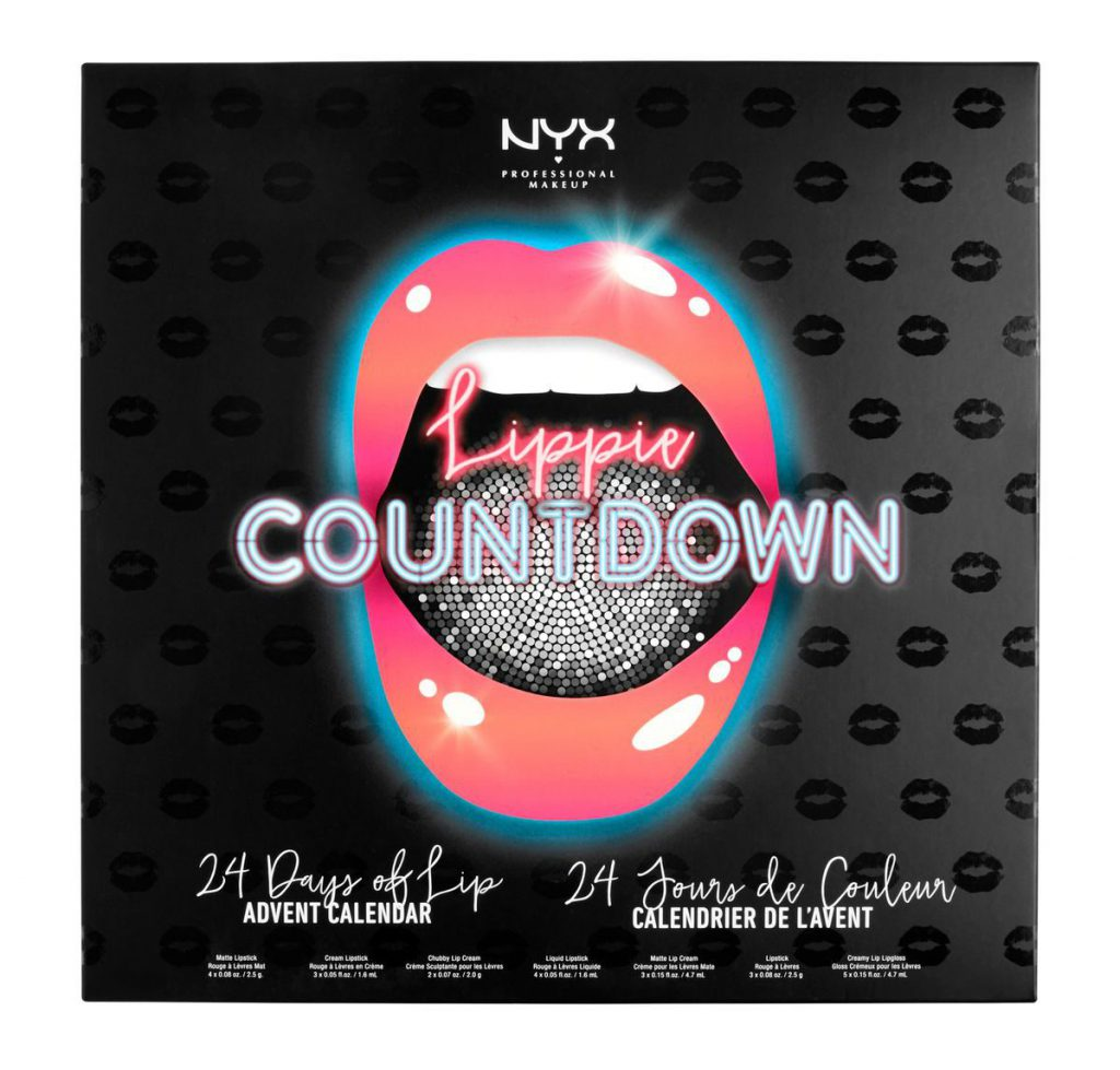 NYX Professional Makeup Lippie Countdown Advent Calendar Cult Beauty Christmas 2017