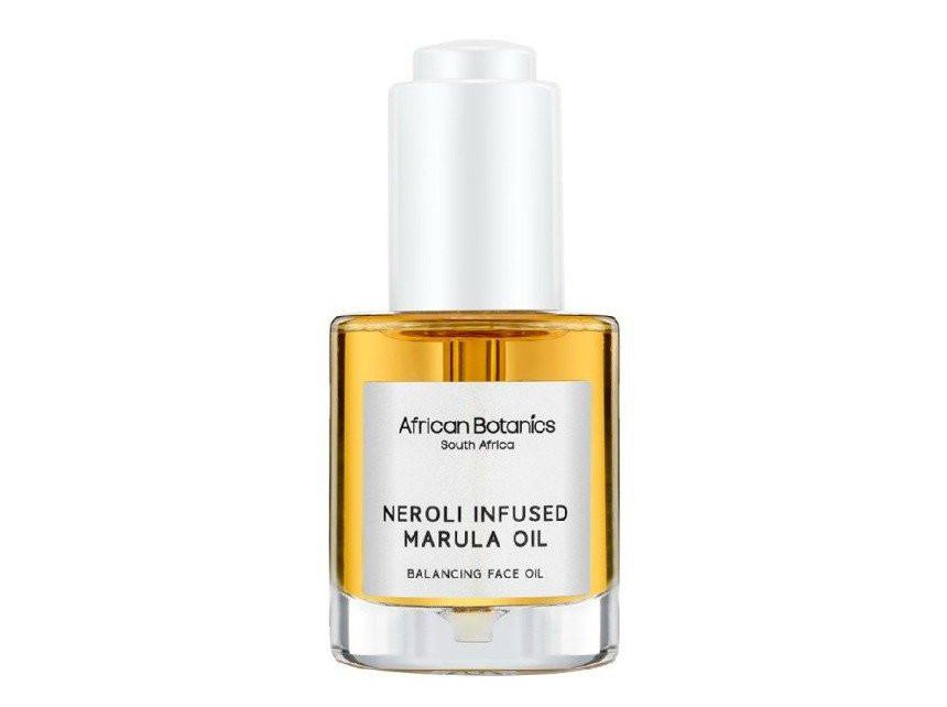 African Botanics Neroli Infused Marula Face Oil 30ml Lorde Beauty