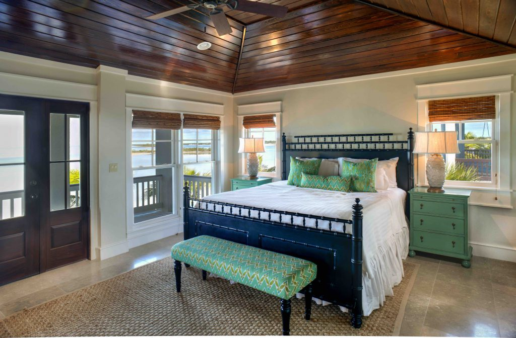 Deep Water Cay The Bahamas Private Island Accommodations Master Bedroom