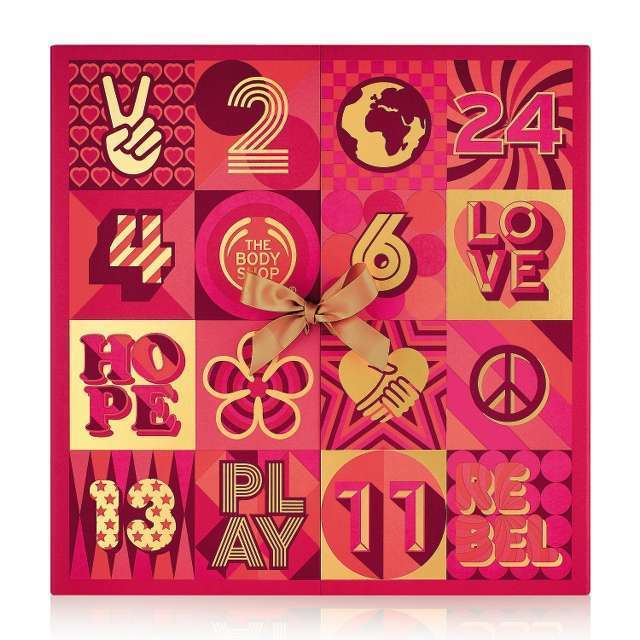 The Body Shop 25 Days Ultimate Advent Calendar Christmas 2017