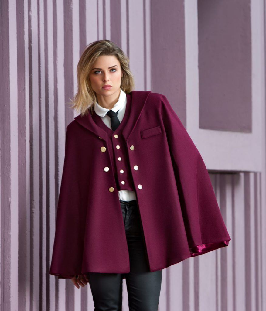 The Georgie two piece waistcoat and jacket Charlie Buckle Cherry