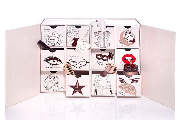 Naughty and Nice Magic Box Beauty Advent Calendar Charlotte Tilbury