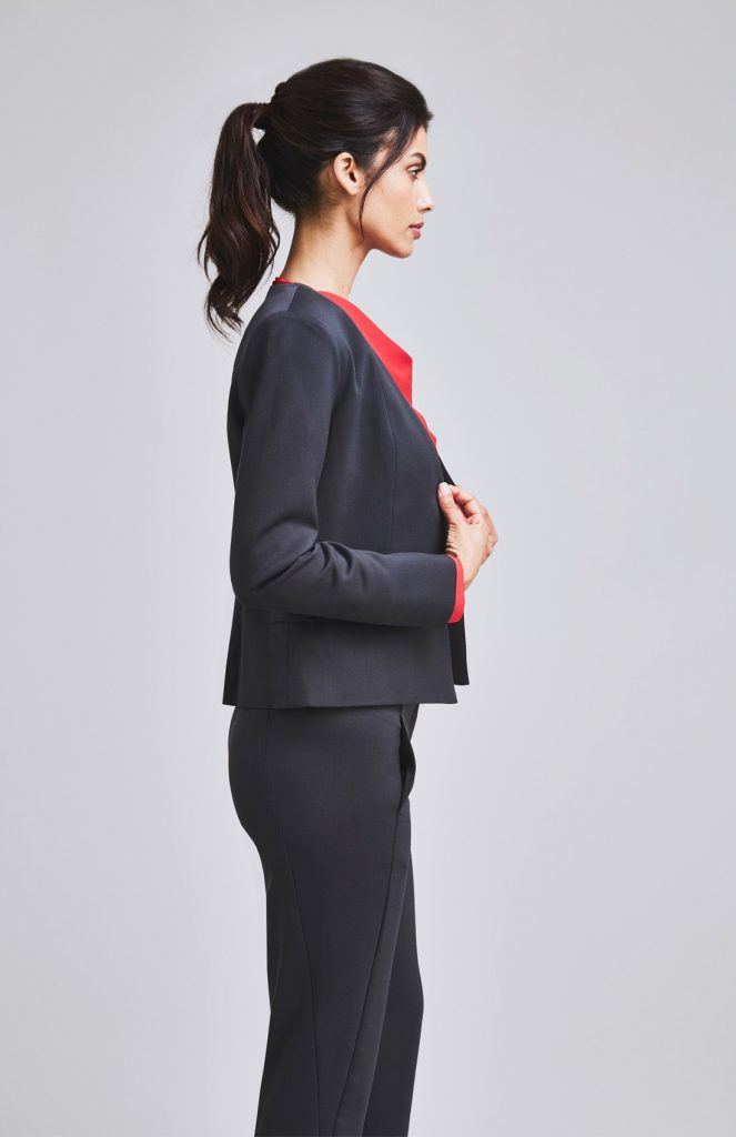 Charcoal Suit The Work Wardrobe