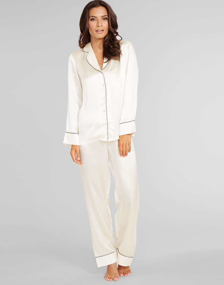 Julianne Coco Silk PJ Set Figleaves