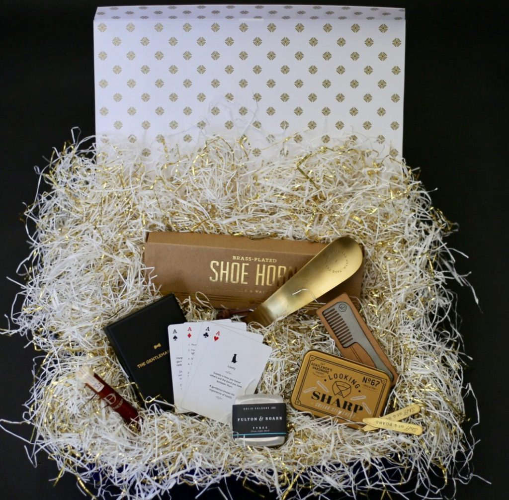 Open Me When You're A Dapper Gentleman Gift Box For Him